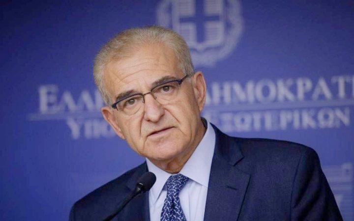 Greek Diaspora Minister Antonis Diamantaris Resigns
