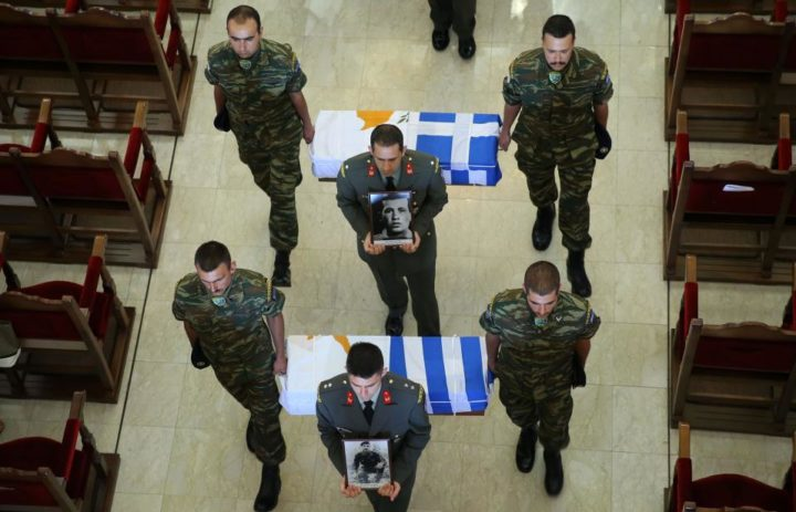 Remains of Six Greek Soldiers Killed in 1974 Cyprus Invasion Returning Home